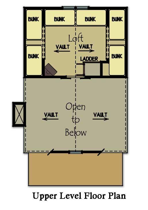 31 best bunk house images on pinterest arquitetura bunk for Small bunkhouse floor plans