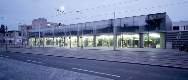 Chalupa architekti - Stanice metra Kolbenova