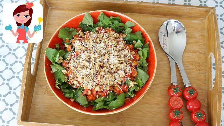 Közlenmiş Biberli Roka Salatası Tarifi – Kevserin Mutfağı – Yemek Tarifleri: Kevserin Mutfağından lezzetli közlenmiş biberli roka salatası…