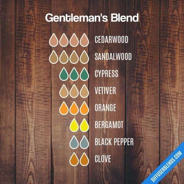 Gentleman S Blend Essential Oil Diffuser Blend With Images