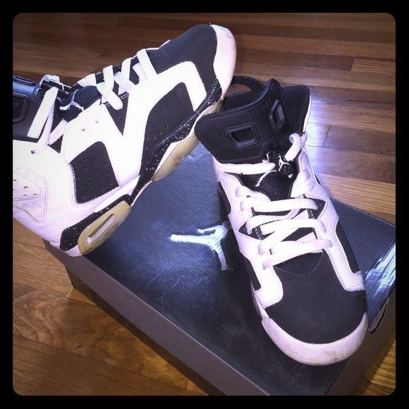 Jordan Oreo 6s OG Black and white jordans Jordan Shoes Athletic Shoes
