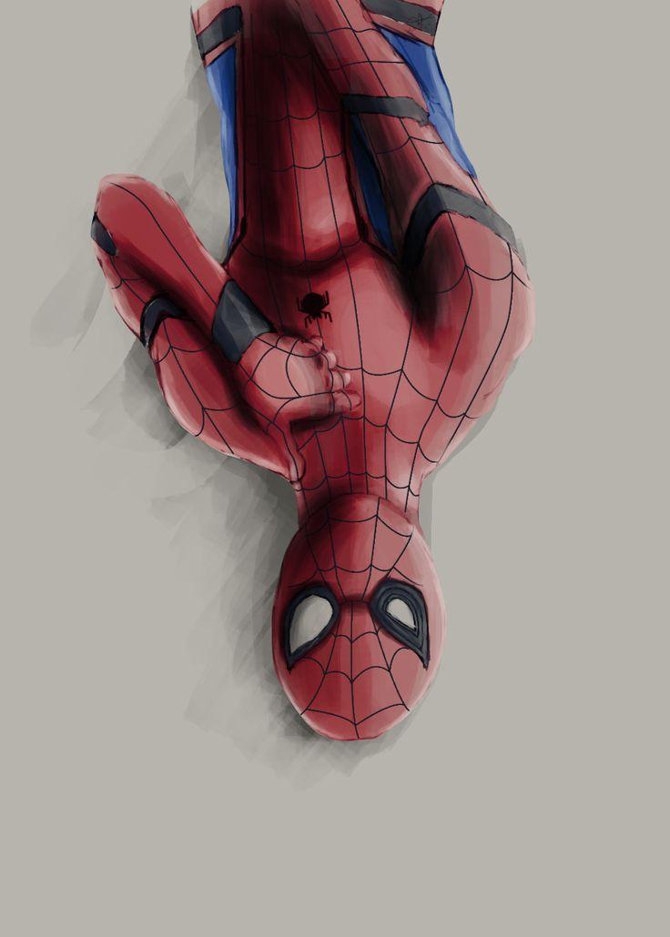"""""""Underoos!"""" Spider-man Civil War art"""