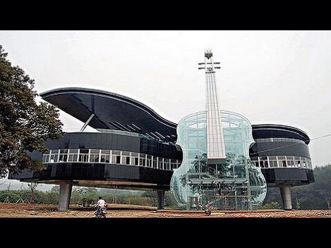 #Creative   The Conservatory of Music Building China.