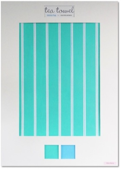 Surface Design Diploma - Industry Awards December 2012  Tamara Maynes Tea Towel Design Highly Commended - Alissa Reeves