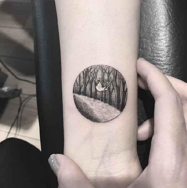 Artist Tattoo Designs Labirynt