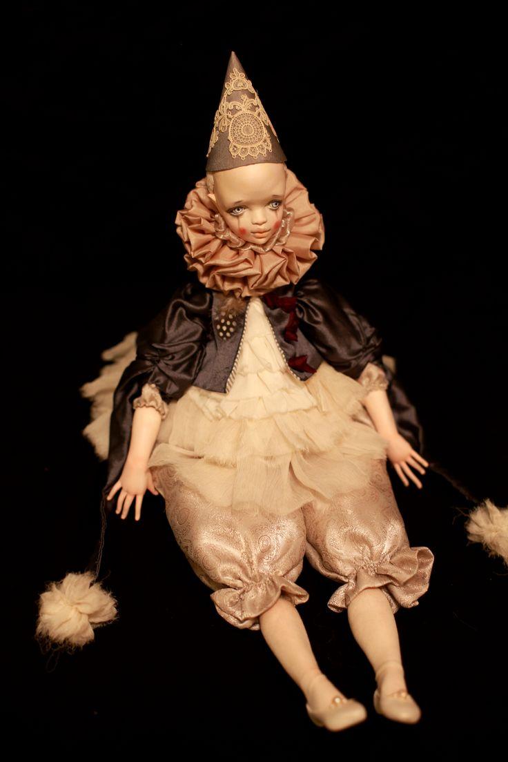 """кукла """"Пьеро"""" 2014 г."""