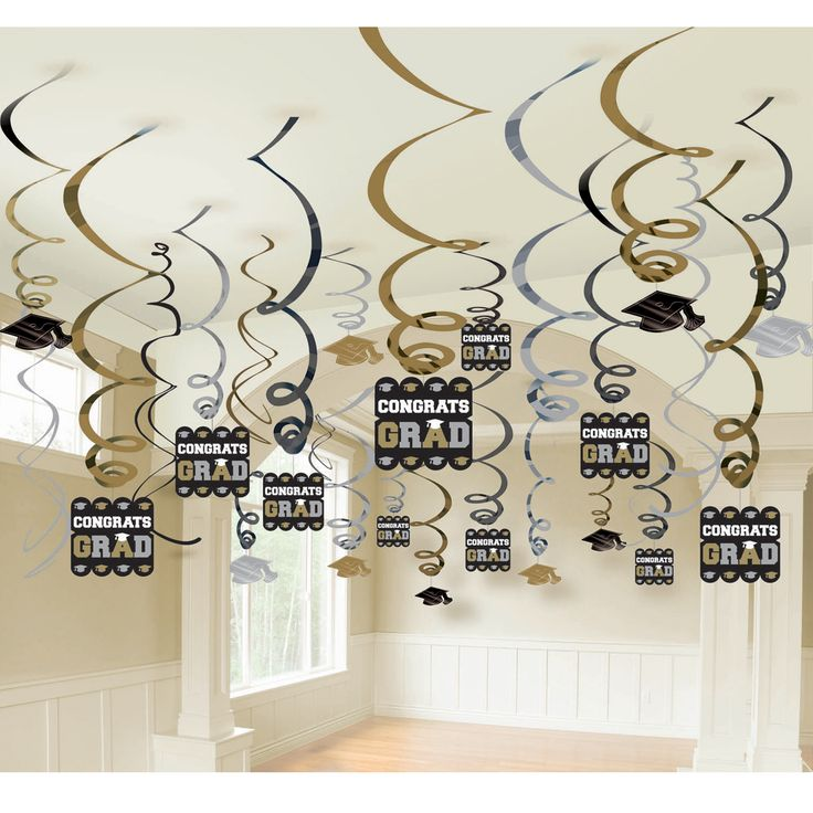 graduation party decorations - Hang some pictures like this instead?