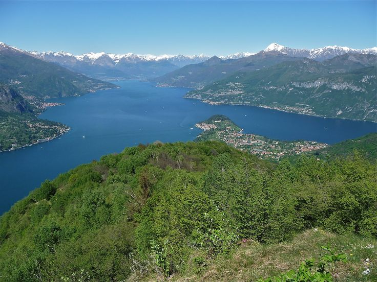 Bellagio from Monte Nuvolone May 2014