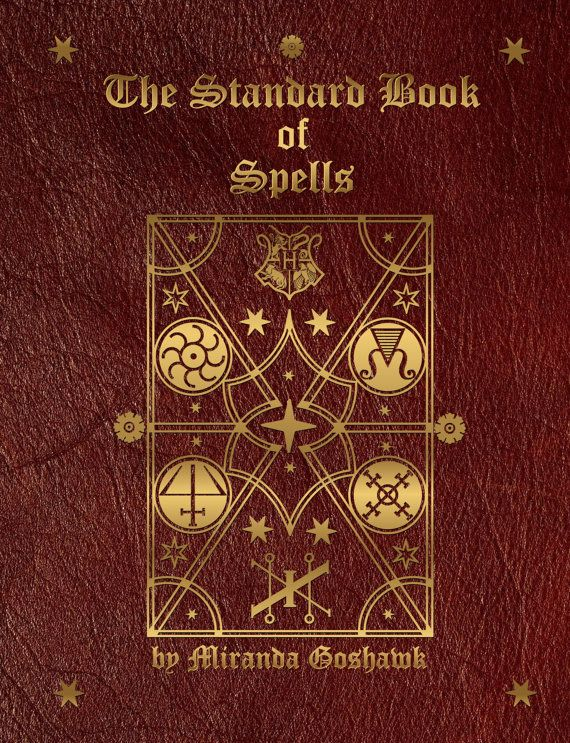 Hogwarts Textbooks - The Standard Book of Spells is a collection of spell books written by Miranda Goshawk