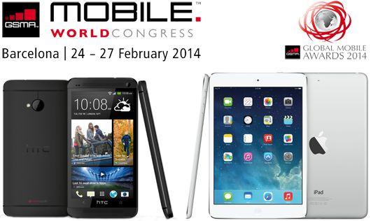 Daftar Produk Terbaik MWC 2014