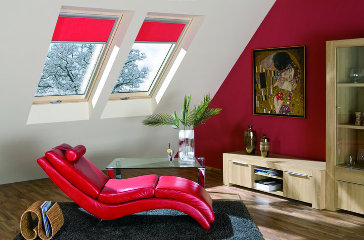 una casa sana grazie alle finestre FAKRO #living #relax #windows #light #home #attic #interiordesign  www.fakro.it