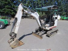 2011 Bobcat 324M Hydraulic Mini Excavator Aux Hyd Extendable Tracks Kubota Blade apply to finance www.bncfin.com/apply excavators for sale - excavator financing
