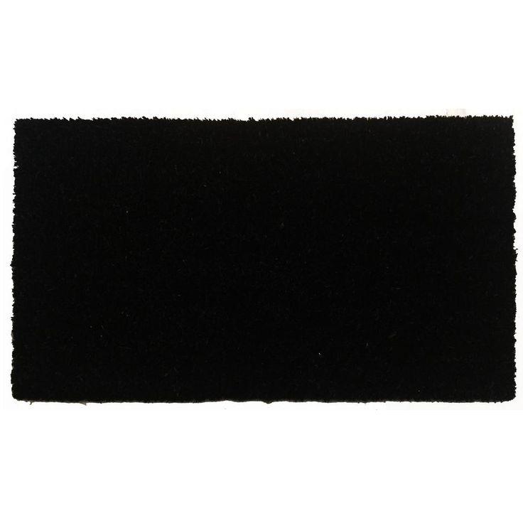 Black Beauty 24 in. x 36 in. Door Mat