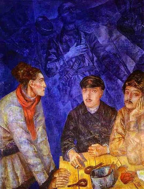 Petrov-Vodkin, Kuzma (1878-1939) - 1923 After a Combat (Central Army Museum, Moscow, Russia) by RasMarley, via Flickr