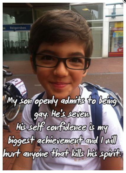 Post Secret.: Inspiration, For Kids, Self Confidence, Parenting Done Rights, Posts Secret, People, Lgbt, Little Boys, Gay Pride