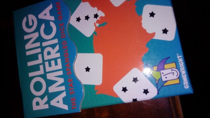 Rolling America, The Star Spangled Dice Action Game new #Gamewright