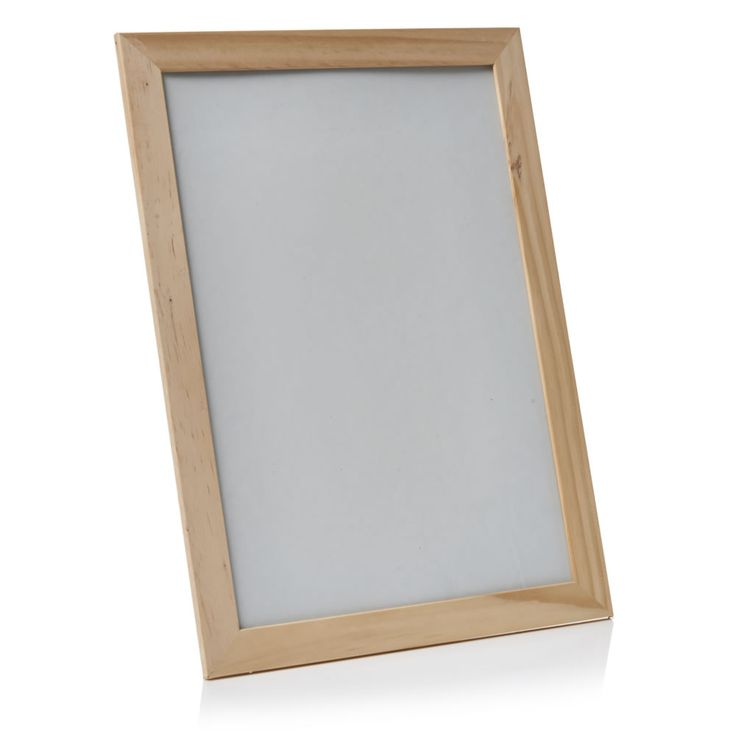 Wilko Everyday Value Photo Frame Pine Effect A4, £1