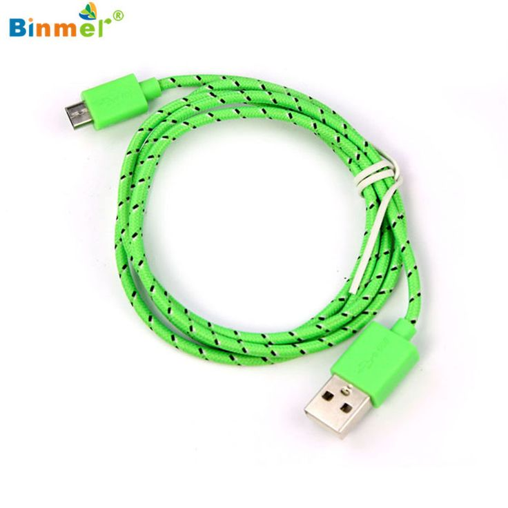 Binmer New High Quality Hemp Rope Micro USB Charger Charging Sync Data Cable Cord for HTC Nokia Samsung Jun28X20 #clothing,#shoes,#jewelry,#women,#men,#hats,#watches,#belts,#fashion,#style