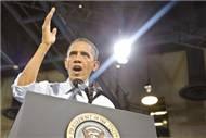 Obama dostlara dişini gösterdi