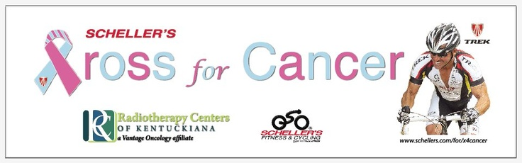Listen Live to Terry Meiners this Thursday at 4:30P on 84 WHAS. Radiotherapy Centers of Kentuckiana and Schellers Fitness & Cycling will be discussing the Scheller's Cross for Cancer by Radiotherapy Centers initiative to raise monies for the Jimmy V Foundation for Cancer Research and how we are using the cycling community as role models for fitness.