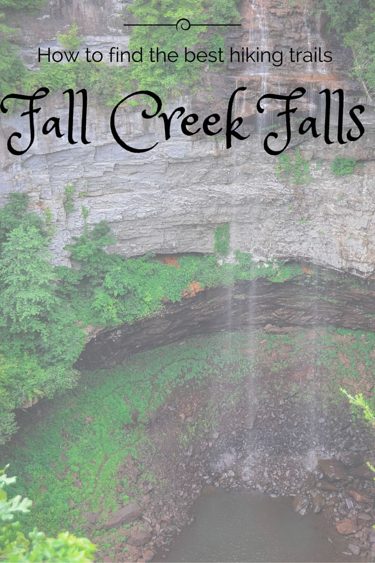 How to Find The Best Fall Creek Falls Hiking Trails