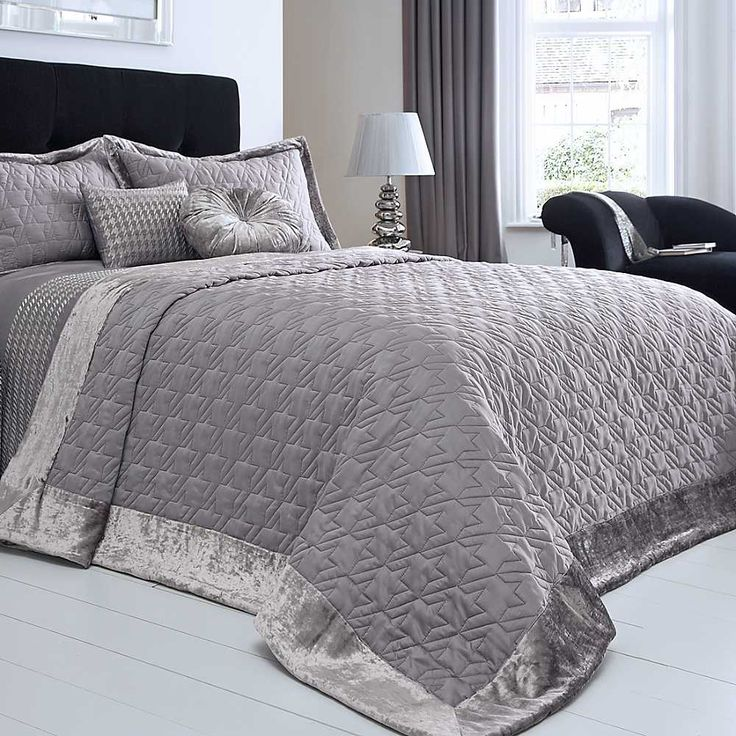 Splendour Grey Bed Throw   Gorgeous. 20 best throws images on Pinterest   3 4 beds  Bed throws and Cushions