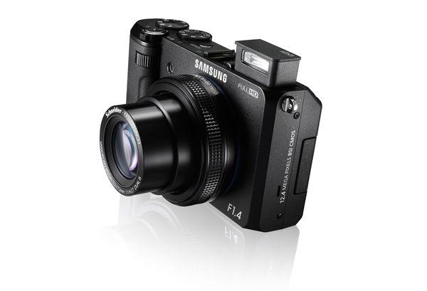 Samsung SMART CAMERA EX2F with Super Bright F/1.4 lens