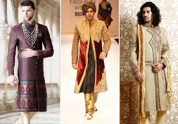 The Shimmering Sherwani!  #Groomwear #Weddingplz #Wedding #Bride #Groom #love #Fashion #IndianWedding #Beautiful #Style