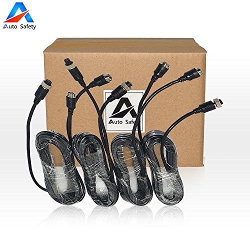 Auto Safety Car Video Extension Cable 5M 4pin Aviation Car Rearview Camera Extension Cable for Car Vehicle Backup Camera System 4 Pcs. For product info go to:  https://www.caraccessoriesonlinemarket.com/auto-safety-car-video-extension-cable-5m-4pin-aviation-car-rearview-camera-extension-cable-for-car-vehicle-backup-camera-system-4-pcs/
