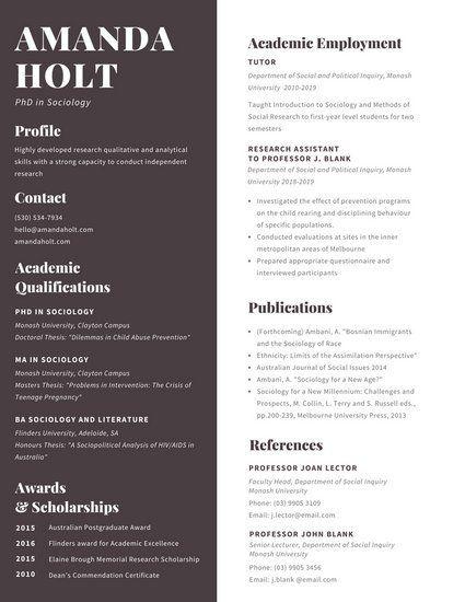 Best Designer Resume Images On   Resume Templates