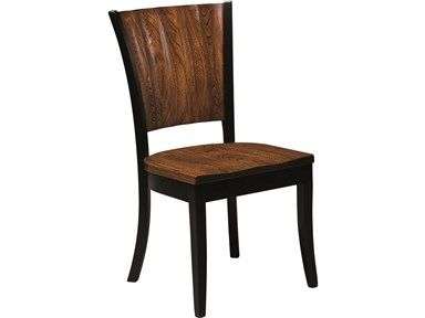Shop For Barkman Rippleback Side Chair And Other Dining Room Chairs At High Country Furniture Design In Waynesville NC