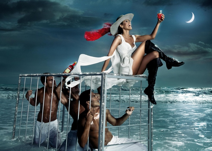 Crazy for You: Eva Mendes Campari Calendar Wallpapers