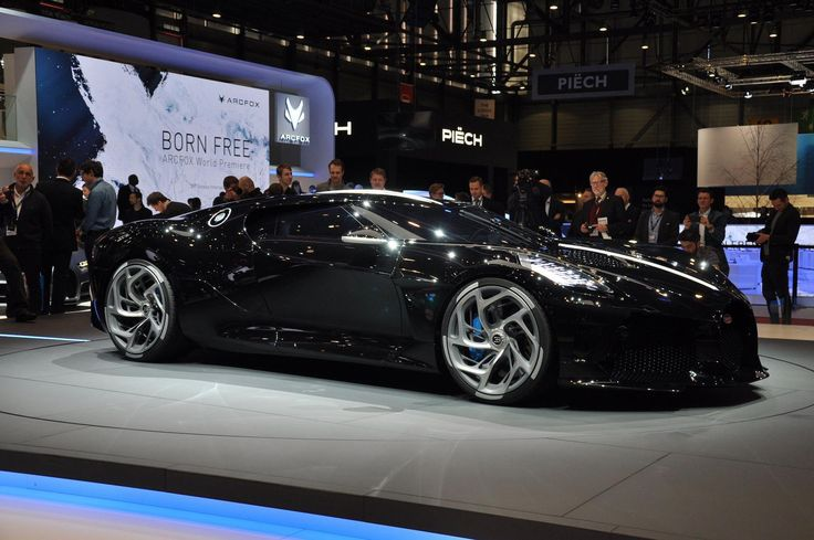 This black-as-night Bugatti may be the world's most expensive new car in 2020   Bugatti, New ...