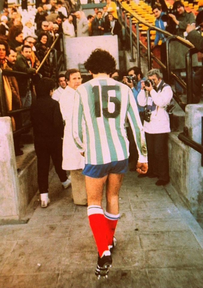 Michel Platini en 1978 jugando para Kimberley de MDQ