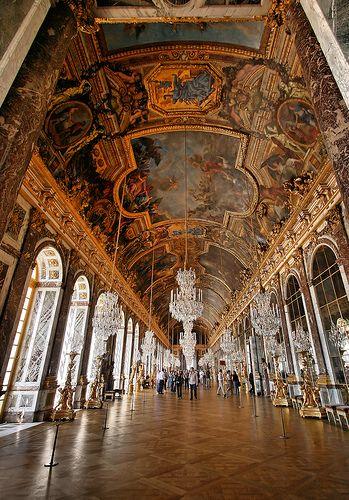 Versailles: hall of mirrors | Flickr - Photo Sharing!
