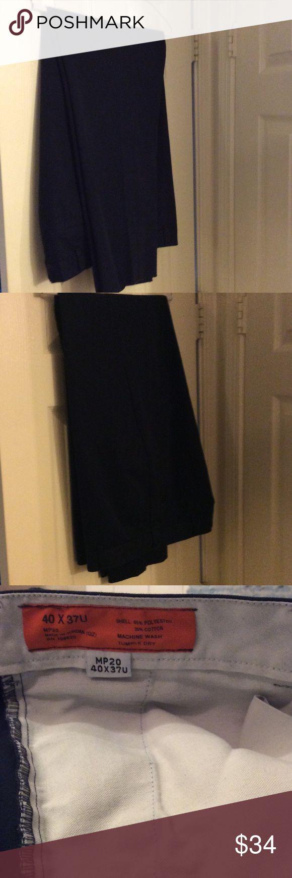 Men's work pants size 40 X 37U Like in New condition. Dark blue, work pants. made in Jordan. Size 40X 37 U n/a Pants
