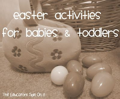 Easter Activities, Crafts, Books and Sign Language for your Baby or Toddler.Baby Time, Craft Books, Crafts Book, Activities For Kids, Easter Fun, Easter Spr, Toddlers, Easter Activities, Easter Ideas