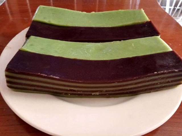 Kue Lapis Menado Super Legit Lembut Nyoklat By Marissca Bangun Kue Lapis Kue Resep