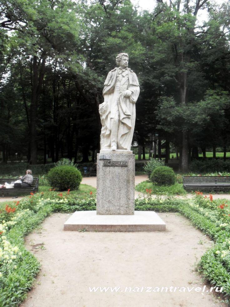 #Памятник А.С. #Пушкину в #Кисловодск. Курортный #парк.