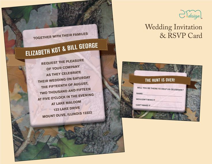 53 best Wedding Invitations images on Pinterest | Rsvp wording ...