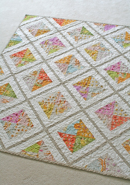 Would be a fun and easy quilt to make.
