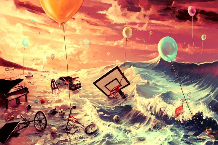 Don't trash your dreams by AquaSixio.deviantart.com