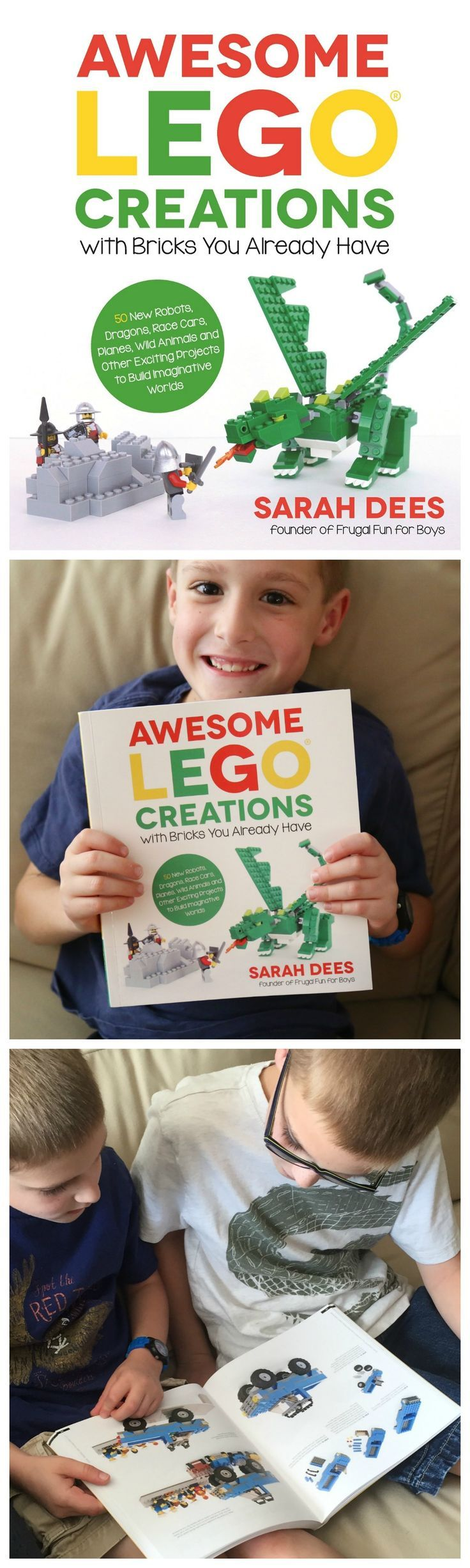 A Look Inside Awesome LEGO Creations with Bricks You Already Have (Our LEGO Book!) 50 exciting new projects to build, with parts lists and instructions!