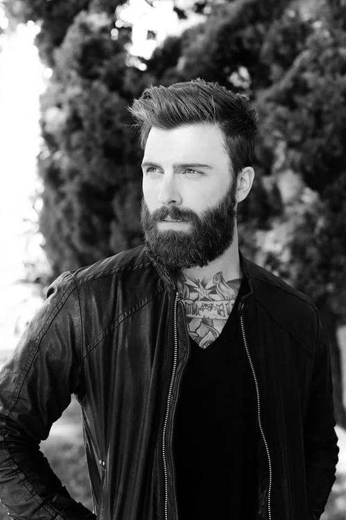 Incredible 1000 Images About Men Style Tattoo Beards Long Hair Art On Pinterest Short Hairstyles For Black Women Fulllsitofus
