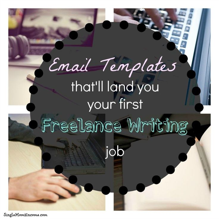 As a new freelance writer finding jobs