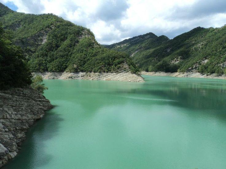**Ridracoli dam (lake, dam, boat rides) - Bagno di Romagna