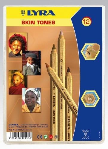 Lyra 3931124 Farb-Riese Skin Tones Etui K12 Kartonetui mit 12 Stück von LYRA, http://www.amazon.de/dp/B003UTH6NC/ref=cm_sw_r_pi_dp_CI8brb0MNPTW8