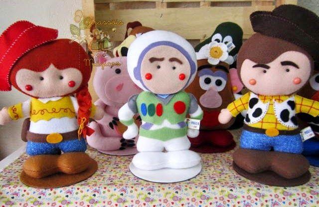 Girassóis Mágicos: Centro de Mesa Toy Story