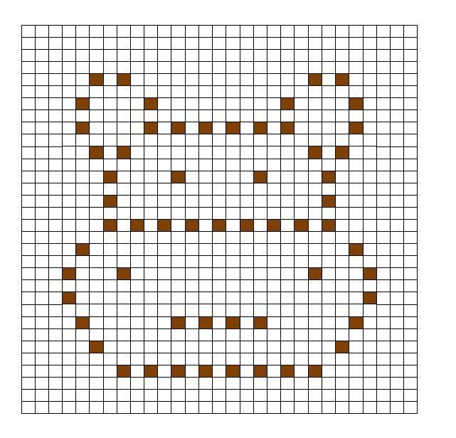 Crochet Bobble Stitch Chart Hippo