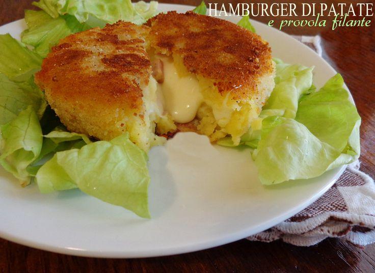 Hamburger di patate e provola